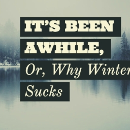 It's Been Awhile, Or Why Winter Sucks